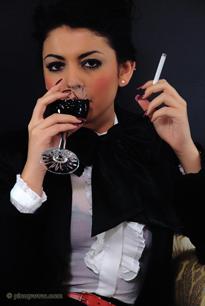 from Felix petra so smoking cigarette pinupwow