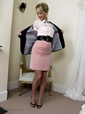 Sexy Secretary Alana Chase Removes Her Smart Work Clothes - Picture 5